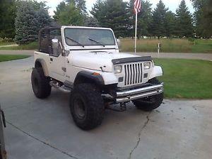 Custom Jeep Wrangler SBC 327 NV4500 Atlas II transfer case
