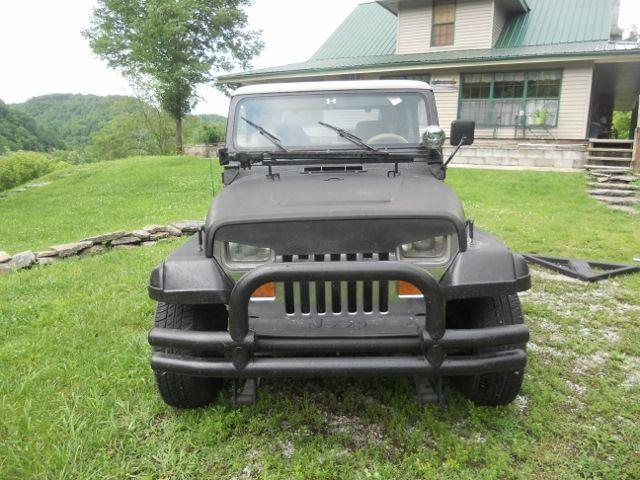 Black interior doors - Custom Jeep Wrangler Yj Classic Jeep Wrangler 1989 For Sale