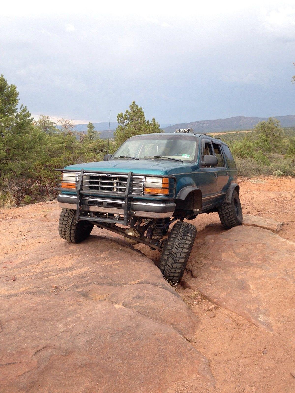 Custom Lifted 94' Ford Explorer Off Road Truck - Classic ...