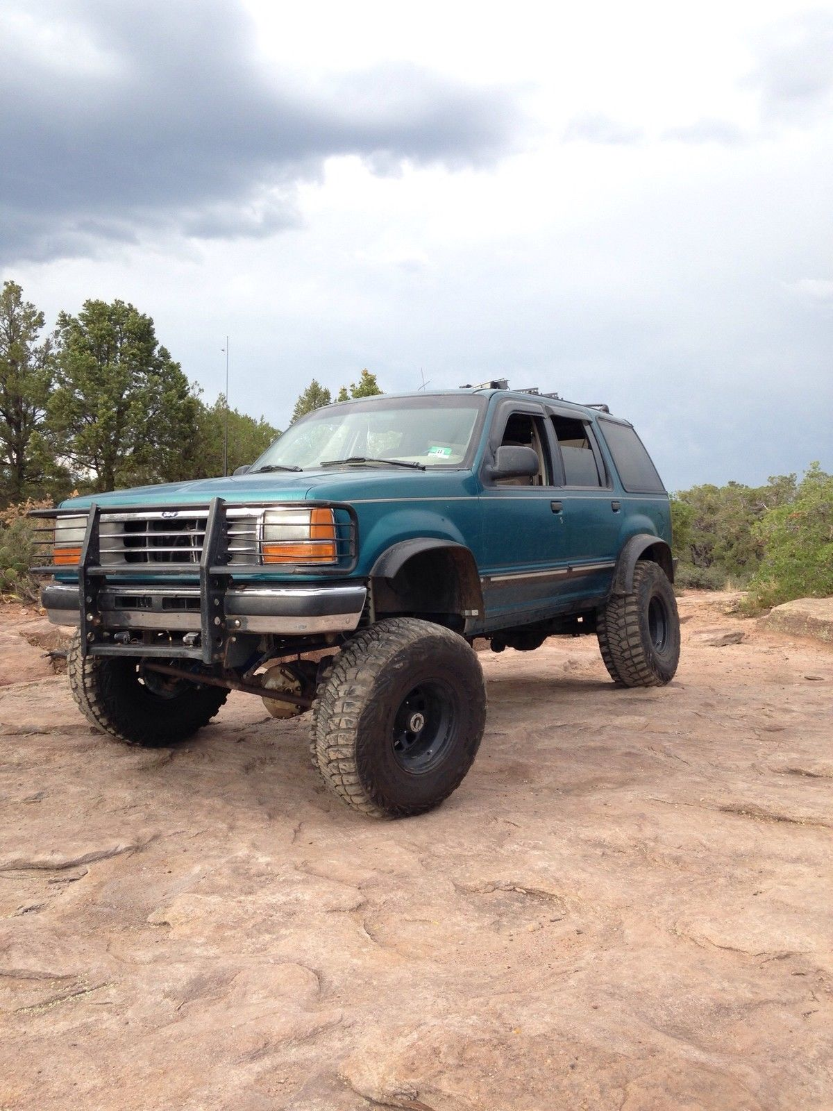 Custom lifted 94 39 ford explorer off road truck classic ford explorer 1994 for sale