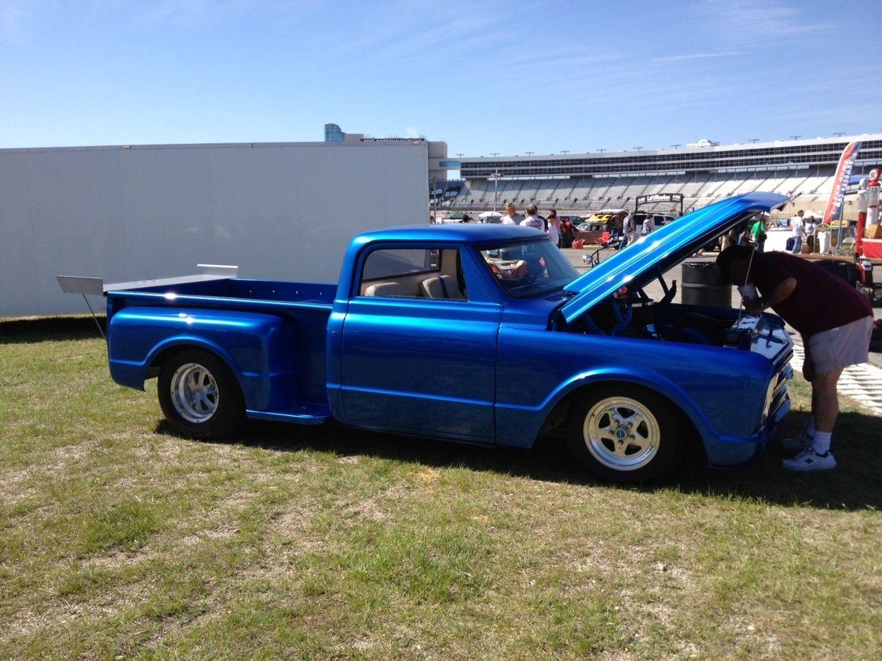 "Rhino Lined Truck >> Custom Pro Street - Multi Show Winner 1968 Chevy C10 Pickup Truck 383/400 9"" - Classic Chevrolet ..."