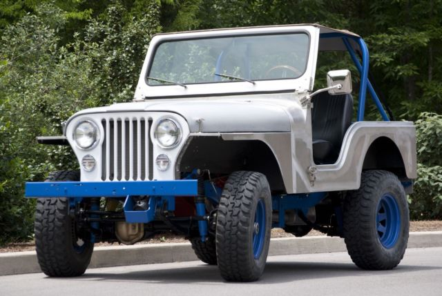 Custom Rebuilt 1970 Jeep Cj5 W New 350 Chevy V8 Gm Engine