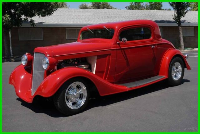 Custombuilt 1934 chevy 3 window coupe 502 400 ford pdb for 1934 ford 3 window coupe custom