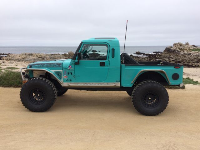 Customer Built Jeep BRUTE Pickup Truck Conversion 4.0 ...