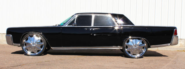 customized black 1964 lincoln continental presidential. Black Bedroom Furniture Sets. Home Design Ideas