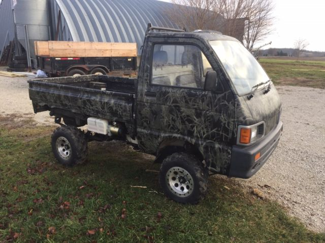 Daihatsu High Jet Mini Truck 4x4