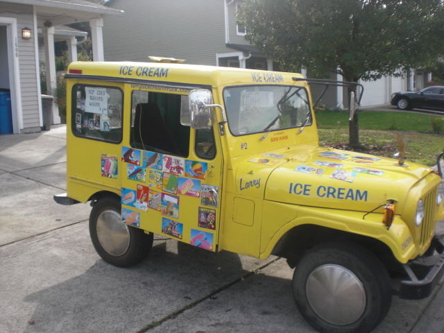 dandy ice cream truck vintage 1978 postal jeep classic jeep other 1978 for sale. Black Bedroom Furniture Sets. Home Design Ideas