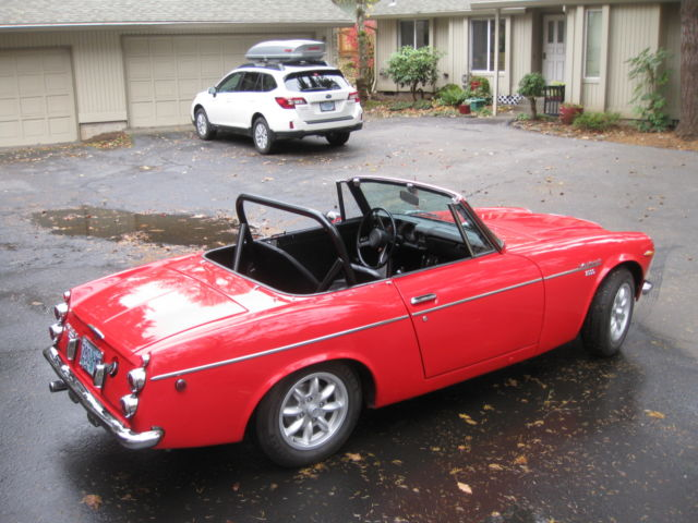 Datsun 2000 Roadster with Nissan SR20DE engine and five speed