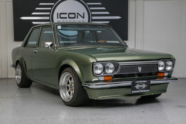 DATSUN 510 - FULL CUSTOM-GREEN- 1973 DATSUN 510 CUSTOM ...