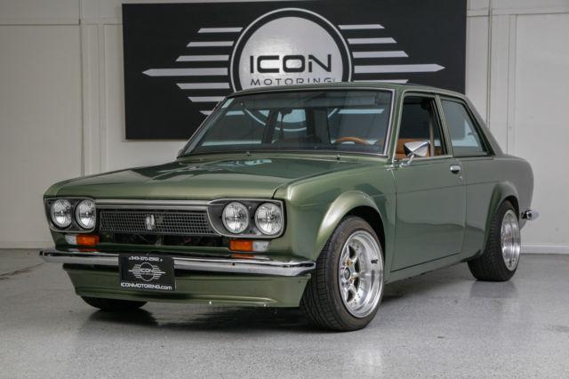 DATSUN 510 - FULL CUSTOM-GREEN- 1973 DATSUN 510 CUSTOM ...