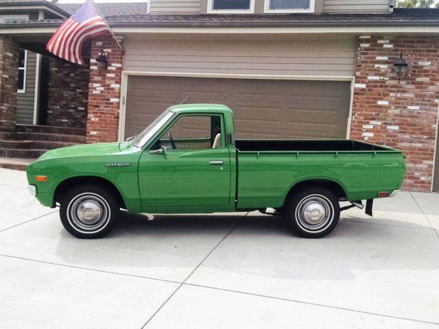 Datsun 620 Short Bed Fleet Side Pickup Truck Classic