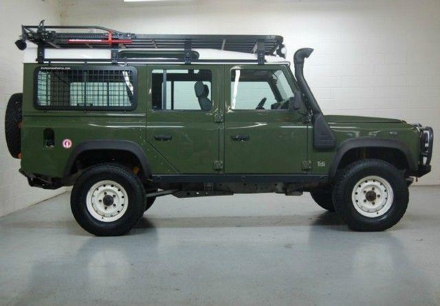 Defender 90 88 110 OME Hannibal BFG Safari Guard Winch ...