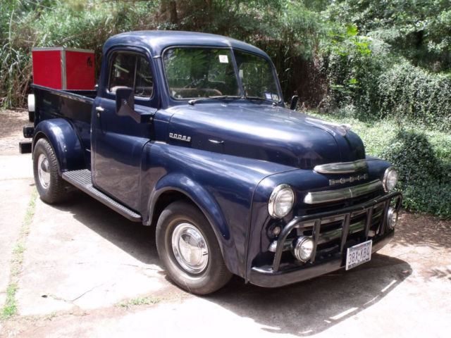 Deluxe 1949 dodge b 1 b half ton 5 window pickup older for 1949 dodge 5 window pickup truck