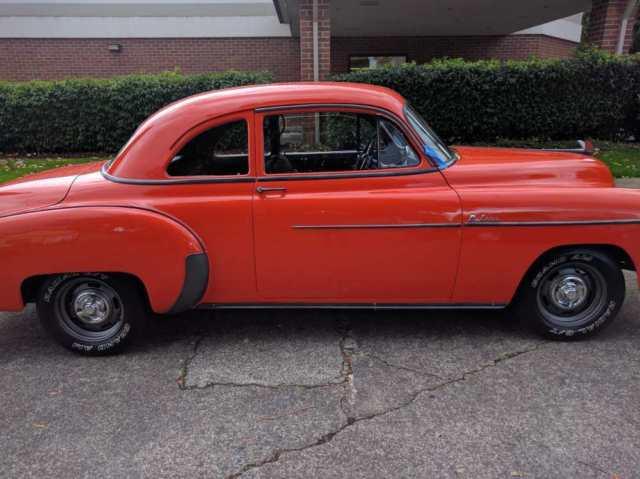 Desirable 1950 chevrolet deluxe 2 door sport coupe new v8 for 1950 chevy deluxe 2 door