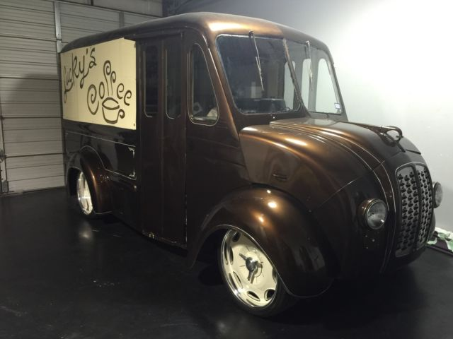 Step Van For Sale >> Divco Milk Truck rat rod hot rod awd food truck coffee ...