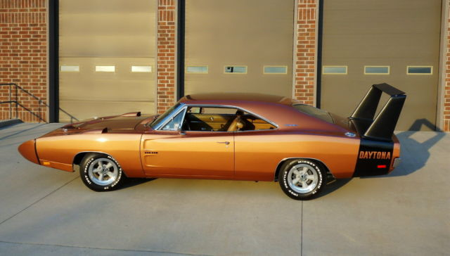 Dodge Charger Daytona 1969 Real Deal 4 Speed Daytona