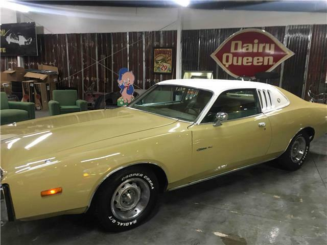 dodge charger gold with 100 miles for sale classic dodge charger 1973 for sale. Black Bedroom Furniture Sets. Home Design Ideas