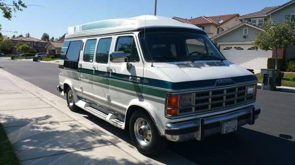 Dodge Conversion Van B250 Wheel Chair Access G10G20G30 B200B100