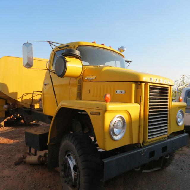 Dodge D80 D800 800 C800 Bighorn Semi Truck 555
