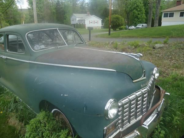 Dodge deluxe 1948 4 door sedan classic dodge deluxe 1948 for 1948 dodge 2 door sedan