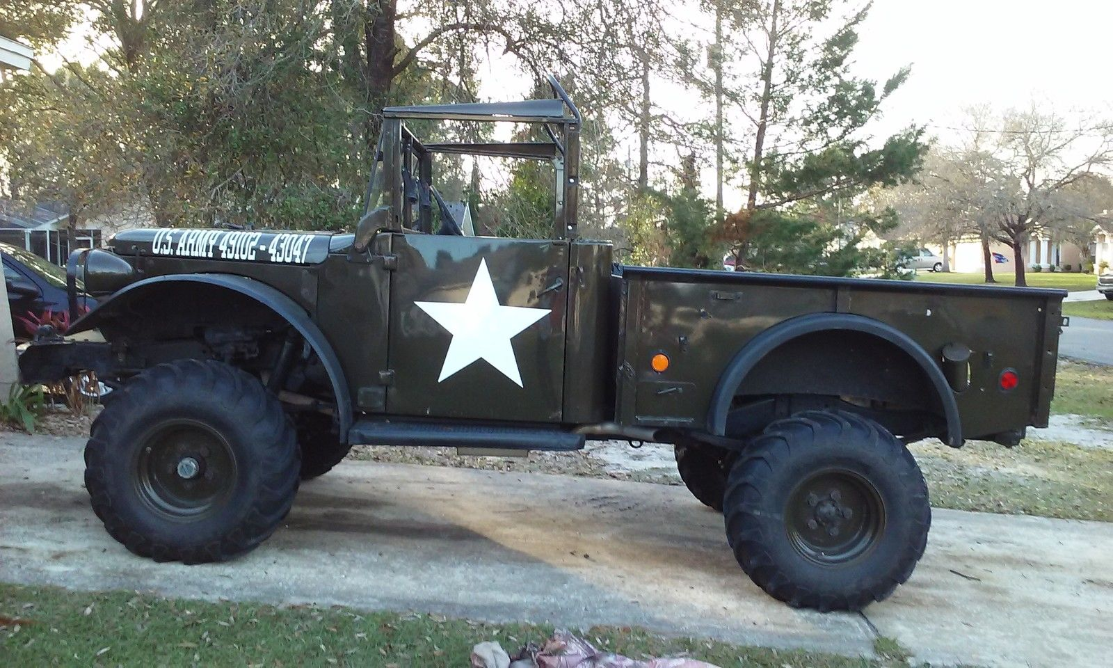 Dodge M 37 Restored Army Truck Chevy V 8 Classic Dodge