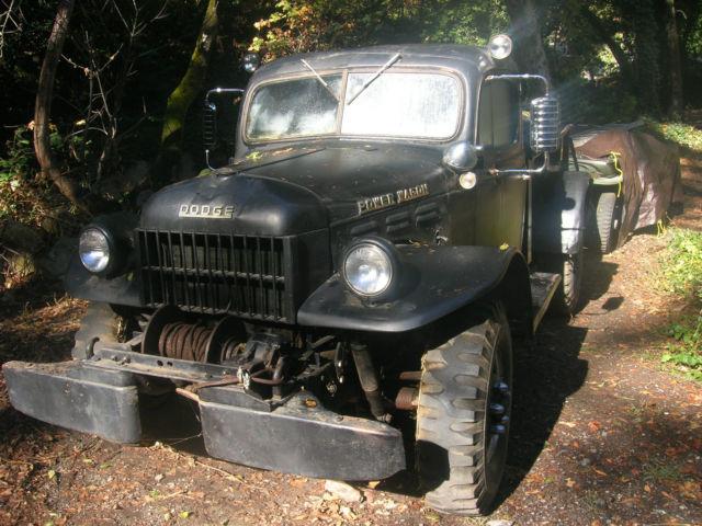 Dodge Wagon With Winch
