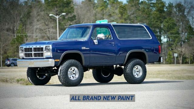 Dodge Ramcharger Charger Restored All New Paint Suspension Interior More Classic Dodge Ram Charger 1991 For Sale