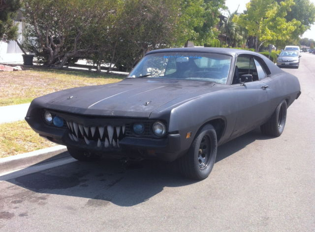 Drives 1970 Ford Torino 2dr 70 S Mad Max Rat Rod Muscle As
