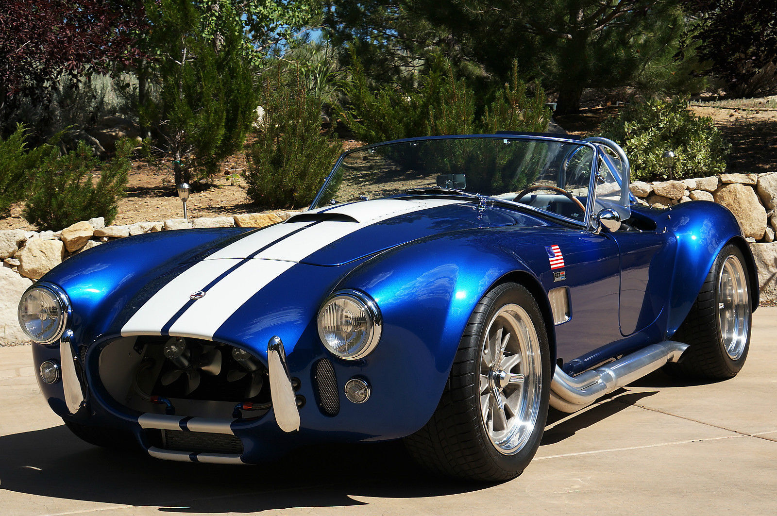 Type Of Car Oil >> ERA 1965 Shelby Cobra Replica - ERA#430 - Blue w/ White Stripes - Classic Shelby ERA Shelby ...