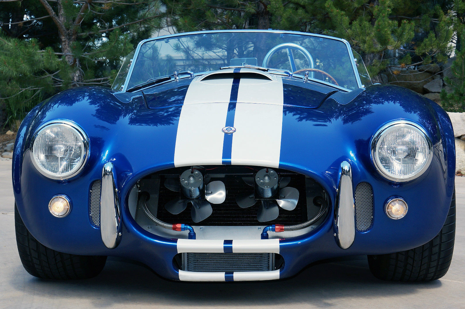 Era 1965 Shelby Cobra Replica Era 430 Blue W White