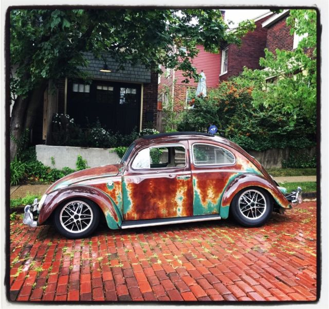 ewan mcgregors  vw beetle ragtop patina monster classic volkswagen beetle classic