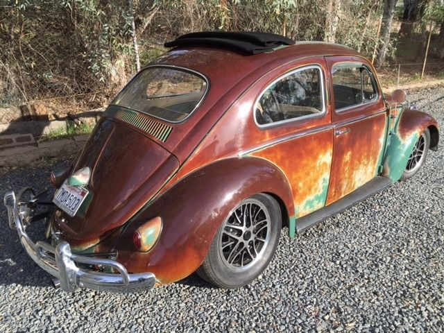 Ewan Mcgregor S 1960 Vw Beetle Ragtop Patina Monster
