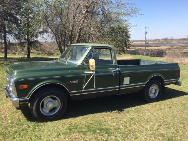 Chevy Certified Pre Owned >> Excellent Condition 1972 Green Chevy Pickup - GMC 2500 Camper Edition Series - Classic GMC ...