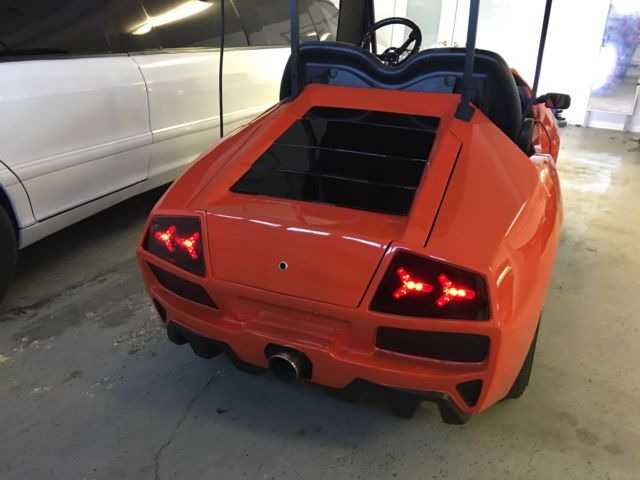 Saleen S7 For Sale >> Exotic euro style Club Car GOLF CART, Lamborghini doors ...