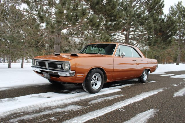 EXTREMELY RARE 1970 DODGE DART CUSTOM W/ GT PACKAGE