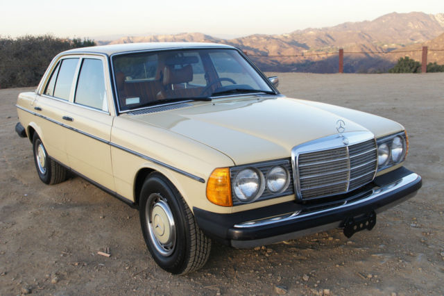 Extremely Rare 1979 Mercedes 280e W123 Gas Motor All