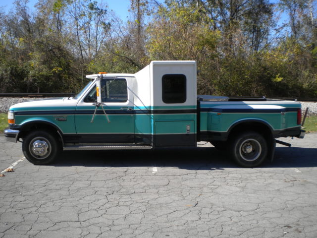 F 350 Xlt Diesel Dually Sleeper Hotshot Truck Hot Shot