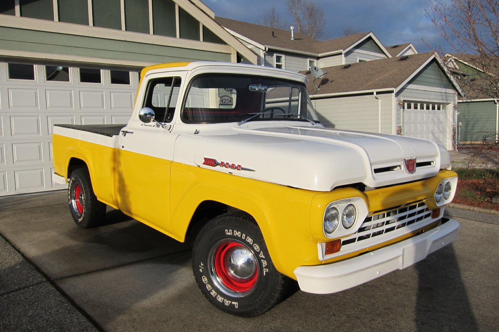 F100 Hotrod V8 Pickup Truck Shortbed Styleside Classic