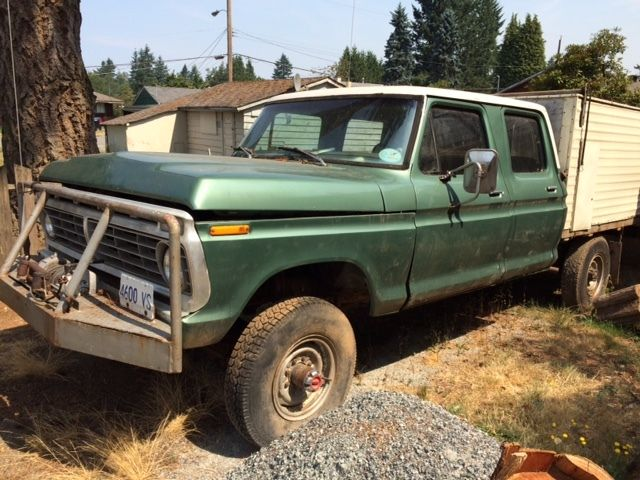 F250 Crew Cab 4x4 Classic Ford F 250 1974 For Sale