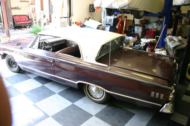 Factory 4 Speed 1963 Mercury Monterey Custom 2 Door