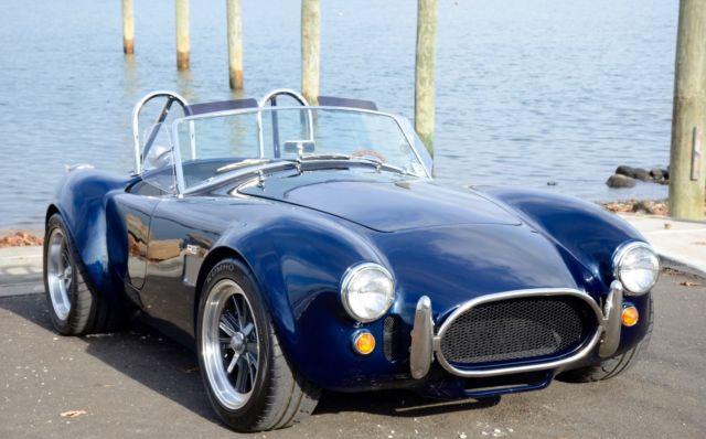 factory five mkiv 427 ac cobra midnight blue classic shelby mk iv roadster 1965 for sale. Black Bedroom Furniture Sets. Home Design Ideas