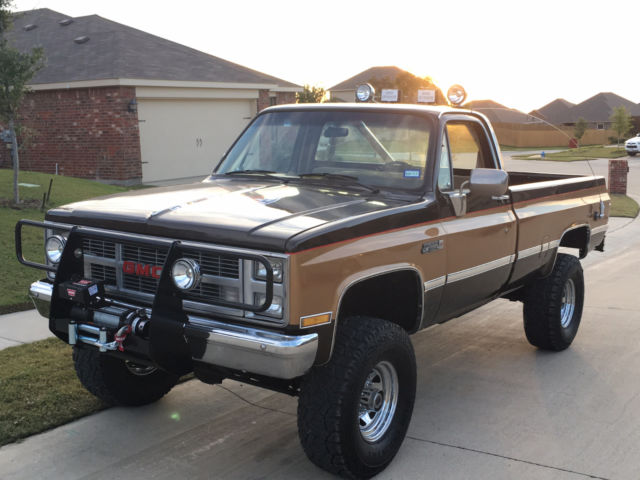 How To Sell A Car Without Title >> Fall Guy replica truck - Classic GMC Sierra 2500 1986 for sale