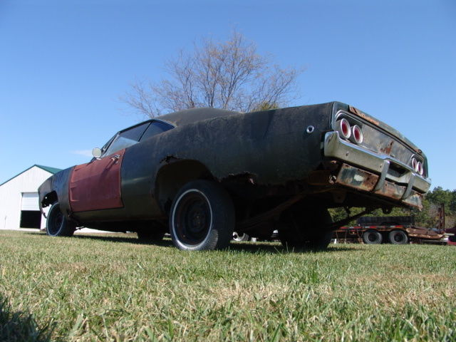 FARM FIND! 1968 Dodge Charger! Perfect Candidate For A
