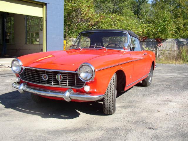 fiat 1500 cabriolet 1966 california car classic fiat other 1966 for sale. Black Bedroom Furniture Sets. Home Design Ideas