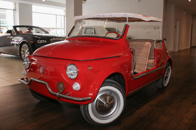 fiat 500 jolly by ghia classic fiat 500 1970 for sale. Black Bedroom Furniture Sets. Home Design Ideas