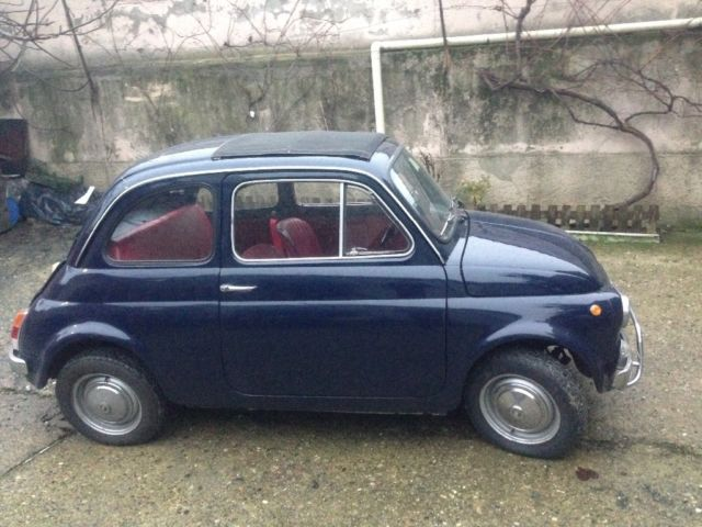 fiat 500 l 1970 classic fiat 500 1970 for sale. Black Bedroom Furniture Sets. Home Design Ideas