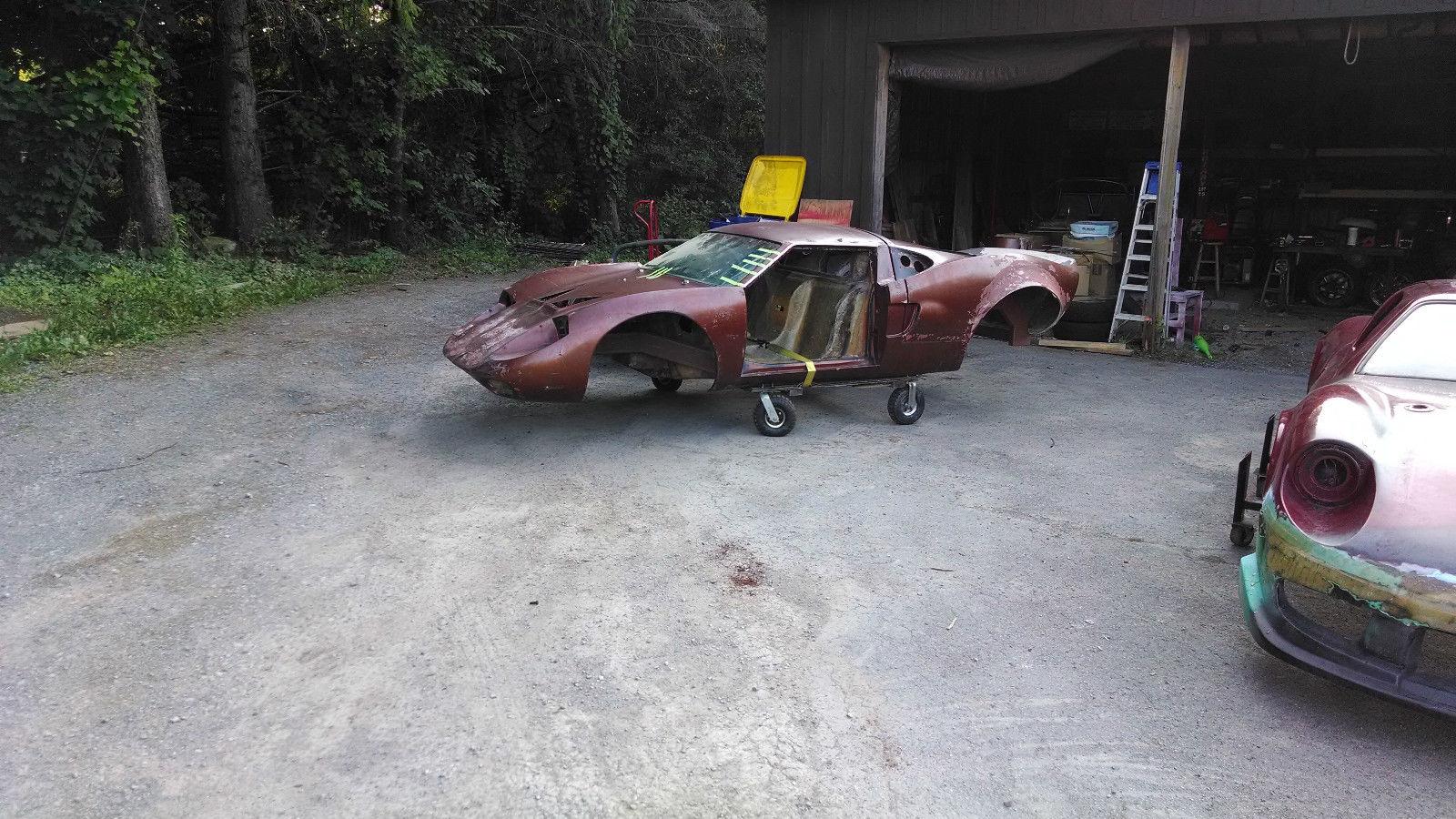 Fiberfab Valkyrie GT40 - Classic Replica/Kit Makes Fiber ...