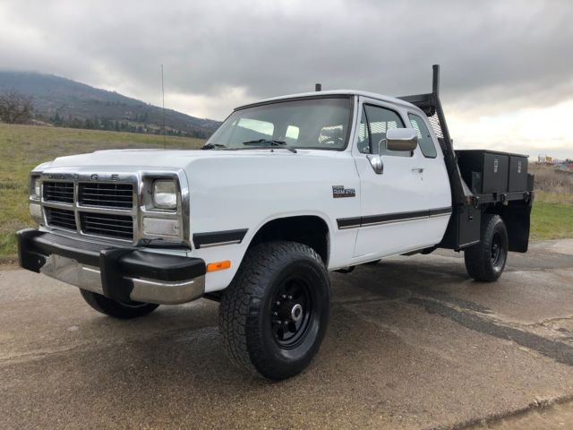 First gen 12 valve cummins turbo diesel 4wd all stock and for Dodge 12 valve cummins motor for sale