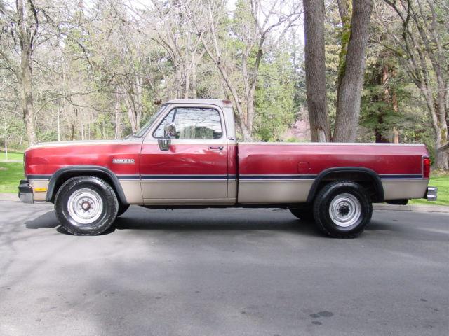 First generation 12 valve cummins turbo diesel 2wd 5 speed for Dodge 12 valve cummins motor for sale