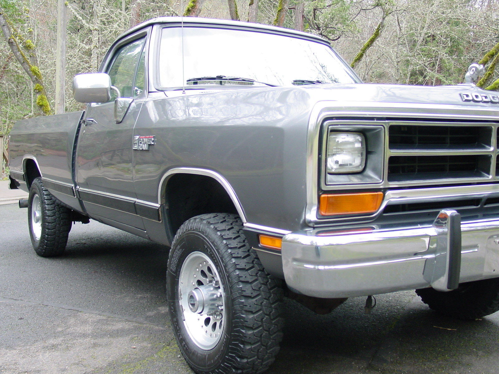 first generation 12 valve cummins turbo diesel 4wd pickup all stock original classic dodge. Black Bedroom Furniture Sets. Home Design Ideas